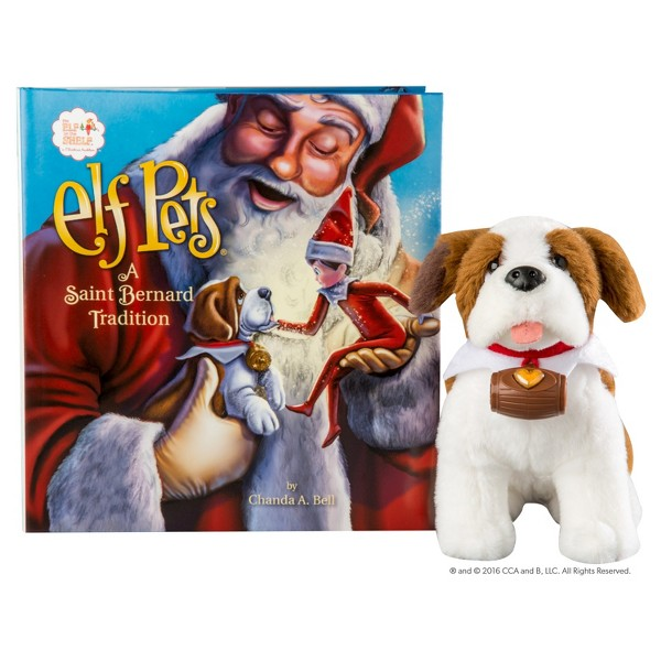 Elf Pets: A St. Bernard Tradition product image