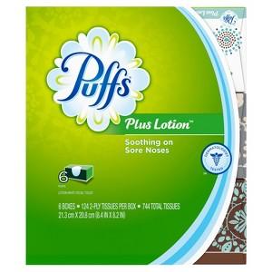 Puffs Facial Tissue