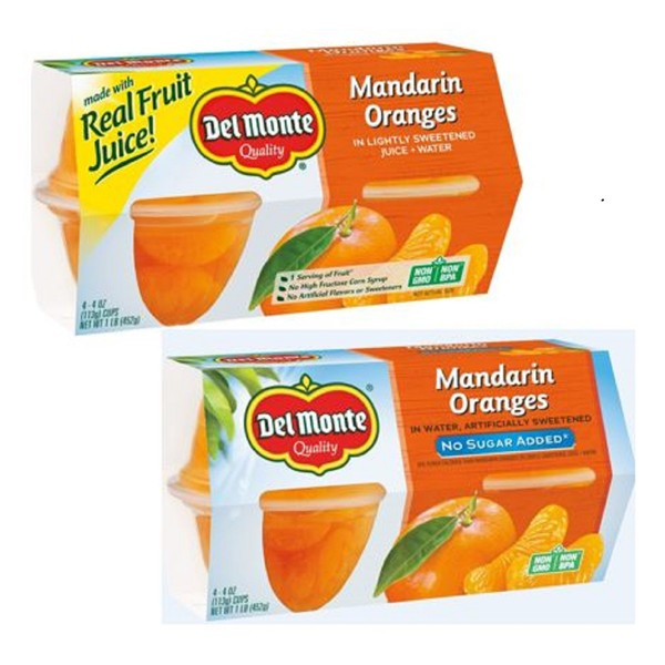 Del Monte Plastic Fruit Cups product image