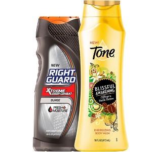 Tone & Right Guard Body Wash