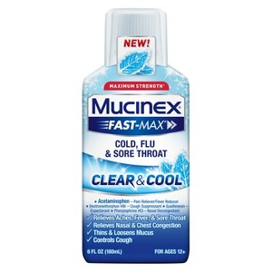 Mucinex Clear and Cool