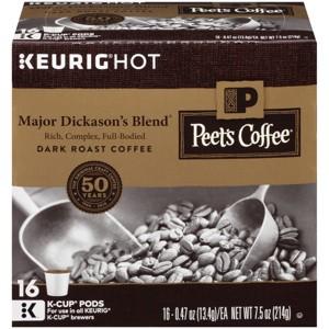 Peet's Coffee K-Cup Packs