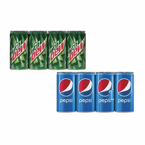 Pepsi & Mountain Dew Mini Cans product image